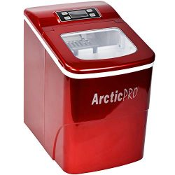 PORTABLE DIGITAL ICE MAKER MACHINE by Arctic-Pro with Ice Scoop, First Ice in 8 Minutes, 26 Poun ...