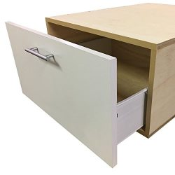 Laundry Pedestal with Storage Drawer – Choose Your Size –