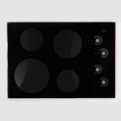 Whirlpool Part Number 8285096: Cooktop, Glass (Black)