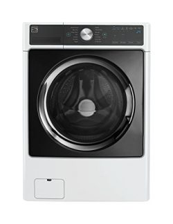 Kenmore Elite 41782 4.5 cu. ft. Smart Front-Load Washer with Accela Wash in White- Works with Al ...