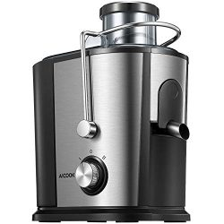 Juicer Wide Mouth Juice Extractor, Aicook Juicer Machines BPA Free Compact Fruits & Vegetabl ...