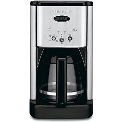 Cuisinart DCC-1200FR Brew Central 12-Cup Coffeemaker, Brushed Stainless Steel (Certified Refurbi ...