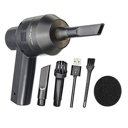 New Cordless Mini Computer Vacuum, Portable Rechargeable Vacuum Cleaner Car Pet Vacuum Dust Kit  ...