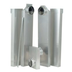Whirlpool 4392892 29-Inch to 77-Inch in the Wall Vent Periscope