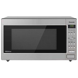Panasonic Microwave Oven NN-SD945S Stainless Steel Countertop/Built-In with Inverter Technology  ...