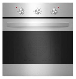 Empava 24″ Stainless Steel 6 Cooking Functions Electric Built-in Convection Single Wall Ov ...