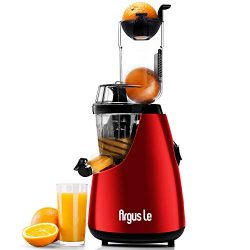 Argus Le Masticating Juicer, Slow Juice Extractor for Higher Nutrient and Vitamins, Easy to Clea ...