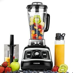 COSORI Blender 1500W for Shakes and Smoothies, Professional Heavy Duty Smoothie Maker With Varia ...