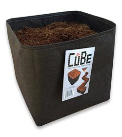 Victory 8 Cube Garden Square 1 Foot. x 1 Foot Modular Fabric Pot Container (Pack of 4)