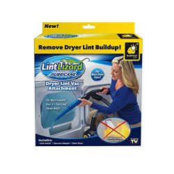 Hurricane Official As Seen On TV Lint Lizard Vacuum Hose Attachment by BulbHead, Removes Lint fr ...