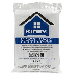 Kirby 6 Cloth F Style Vacuum Bags Sentria II Ultimate G Diamond G6 G5 G4 204811