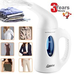 Clothes For Home Travel Steamer, 2019 Portable Garment Steamer Powerful Multi-Use Fast Heat Hand ...