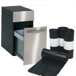 Bags For Less – Compactor Trash Bags Medium 4 Mil Tough Tough 34 x 44 100/Box