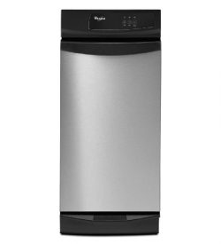Whirlpool GX900QPP Undercounter 15W in. Trash Compactor with Clean Touch Console – Stainle ...