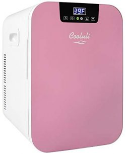 Cooluli Concord 20-liter Compact Cooler/Warmer Mini Fridge/Wine Cooler with Digital Thermostat + ...