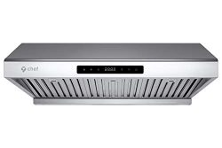 """Chef Range Hood PS10 30"""" Pro Performance Under Cabinet Kitchen Extractor 