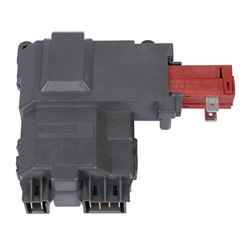 S-Union Replacement 131763202 Front Load Washer Door Lock Switch Assembly for Frigidaire Kenmore ...