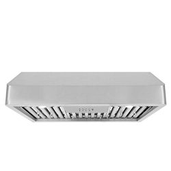 Cosmo QB75 30-in Under-Cabinet Range-Hood 900-CFM | Ducted/Ductless Convertible Duct, Kitchen St ...
