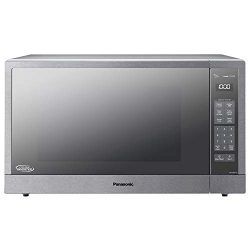Panasonic Microwave Oven, Stainless Steel Countertop/Built-In Cyclonic Wave with Inverter Techno ...