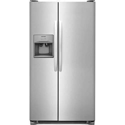 Frigidaire FFSS2315TS 33 Inch Side by Side Refrigerator with 22.1 cu. ft. Capacity, in Stainless ...
