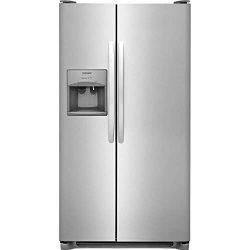 Frigidaire FFSS2615TS 36 Inch Side by Side Refrigerator with 25.5 cu. ft. Capacity, External Wat ...