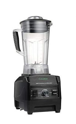 Blender By Cleanblend: Commercial Blender, Mixer, Smoothie Blender, 64 Ounce BPA Free Container, ...