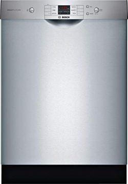 Bosch 24″ 100 Series Stainless Steel Dishwasher