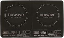 Nu Wave 30602 Double Precision Induction Cooktop Burner, Black