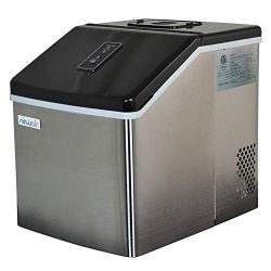 NewAir ClearIce40 Portable Countertop Ice Maker Machine (Certified Refurbished)