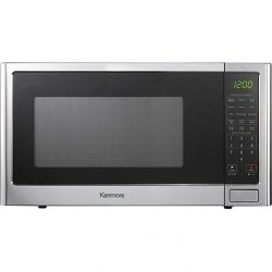 Kenmore 1.2 cu.ft. Microwave Oven – Stainless Steel