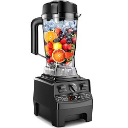 Vanaheim Professional Blender, 64Oz Container with Tamper,Variable Speed,Built-in Timer, Self Cl ...