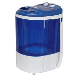 SUPER DEAL 9lbs Capacity Mini Washing Machine Compact Counter Top Washer w/Spin Cycle Basket and ...