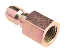 Forney 75135 Pressure Washer Accessories, Quick Coupler Plug, 1/4-Inch Female NPT, 5,500 PSI by  ...