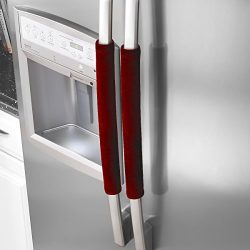 OUGAR8 Refrigerator Door Handle Covers,Keep Your Kitchen Appliance Clean from Smudges, Fingertip ...