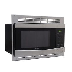 RV Stainless-Steel Microwave 1.0 cu ft. With Trim Package EM925AQR-S