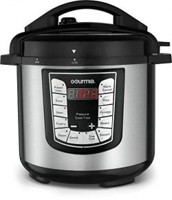 Gourmia GPC625 6 Qt Multi-Mode SmartPot Pressure Cooker | 13 Cook Modes | Removable Nonstick Pot ...