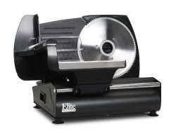 Elite Platinum EMT-503B Ultimate Precision Electric Deli Food Meat Slicer, Removable Stainless S ...