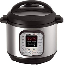 Instant Pot DUO80 8 Qt  7-in-1 Multi- Use Programmable Pressure Cooker, Slow Cooker, Rice Cooker ...