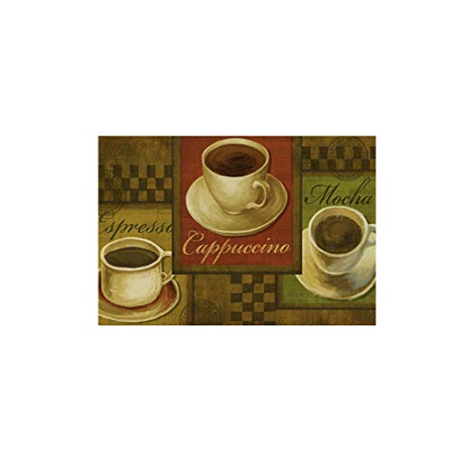 Coffee Kitchen Accent Mat Brewing House, Skid Resistant, 18 x 30 inches