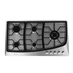 Empava 36″ 5 Italy Sabaf Burners Stove Top Gas Cooktop Stainless Steel LPG/NG Convertible  ...