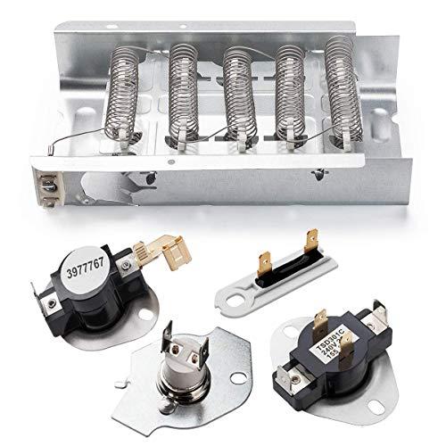 Whirlpool Kenmore Dryer Heating Element 279838 & 3392519