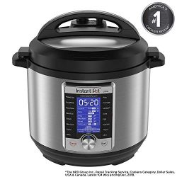 Instant Pot Ultra 6 Qt 10-in-1 Multi- Use Programmable Pressure Cooker, Slow Cooker, Rice Cooker ...