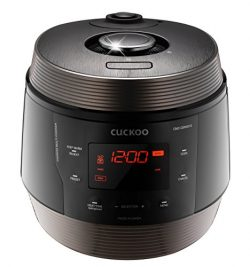 Cuckoo CMC-QSN501S 8 in 1 Multi (Pressure, Slow, Rice Cooker, Browning Fry, Steamer, Warmer, Yog ...