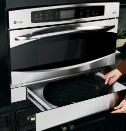GE Profile JX2200NBB Advantium 240V Wall Oven Storage Drawer – Black