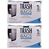 "RPS PRODUCTS UENPVYZP BestAir Trash Compactor Bags(16"" D. x 9"" W. x 17"" H), 2  ..."