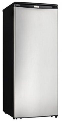 Danby Designer DUFM085A4BSLDD 8.5 cu. ft. Upright Freezer Stainless Steel