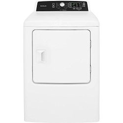Frigidaire FFRE4120SW 30 Inch Electric Dryer with 6.7 cu. ft. Capacity, 10 Dry Cycles, 5 Tempera ...