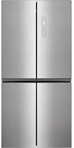 Frigidaire FFBN1721TV 33 Inch 4 Door French Door Refrigerator with 17.4 cu. ft. Total Capacity,  ...