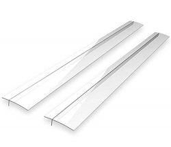 Maddott Kitchen Silicone Stove Counter Gap Cover, Wide Long Gap Filler, Seals Spills Between Cou ...