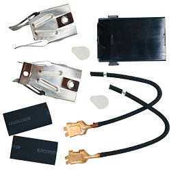 HIFROM Replacement 330031 Range Top Burner Receptacle Kit Heating Element Accessories for Whirlp ...